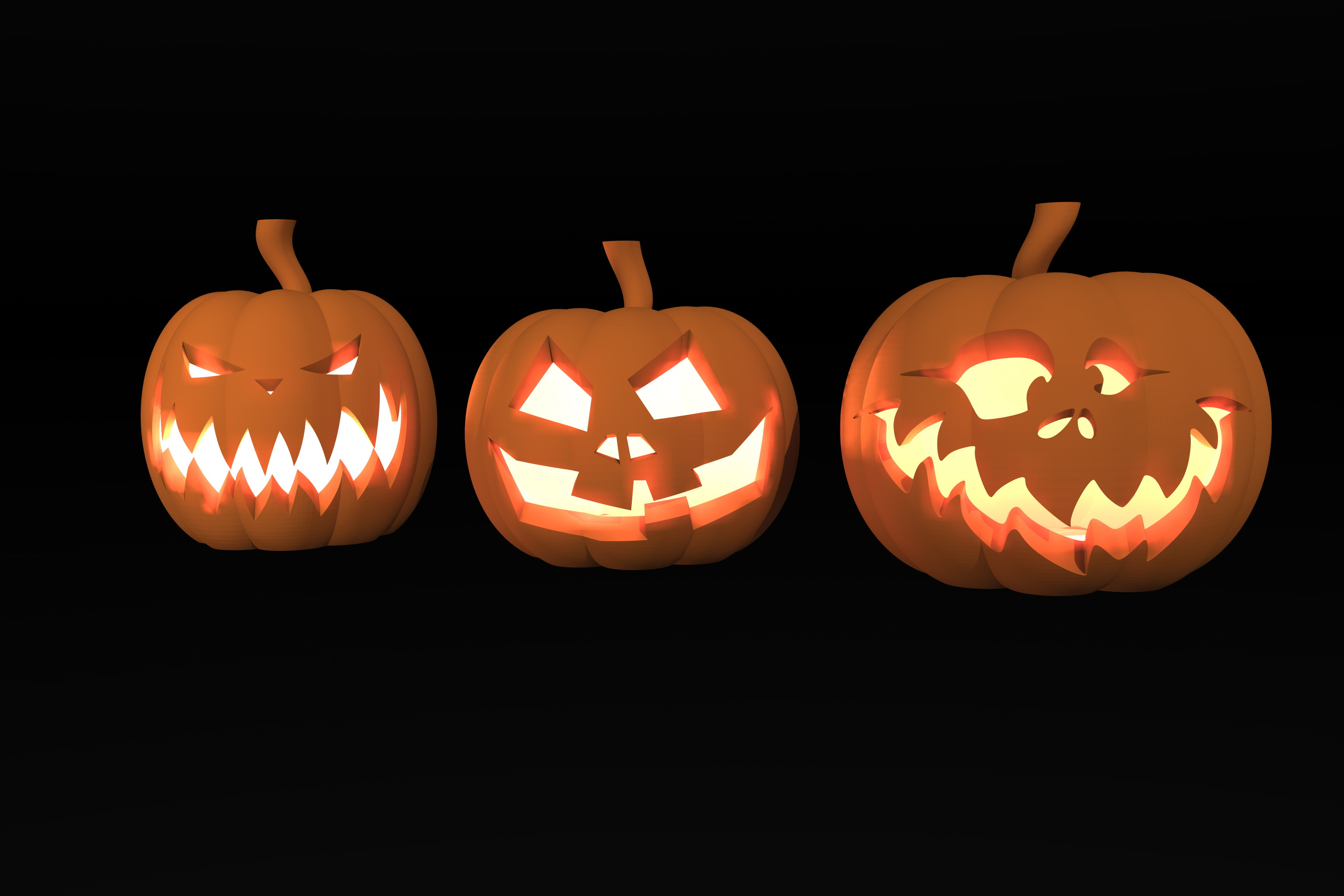 Halloween Food Decorations New Halloween Pumpkins by Fabricke Thingiverse Gallery